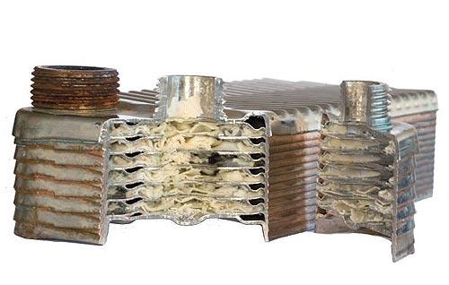 Теплообменник вторичный в разрезе Паяный теплообменник HYDAC HEX S522-150 Салават