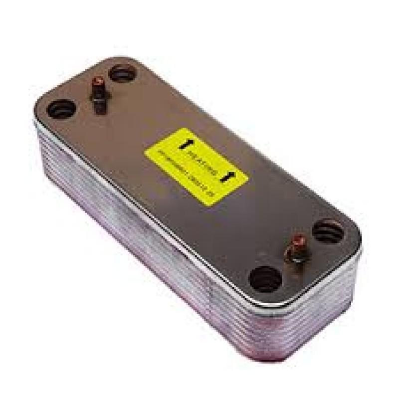 Теплообменник 16 пластин вторичный гвс ferroli 39835630 Полусварной пластинчатый теплообменник Sondex SW26A Улан-Удэ